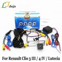 Laijie Car Rear View Camera Per Renault Clio 3 4 III IV/Lutecia 2005 ~ 2017/HD Obiettivo Grandangolare Retromarcia Telecamera di Parcheggio fotocamera