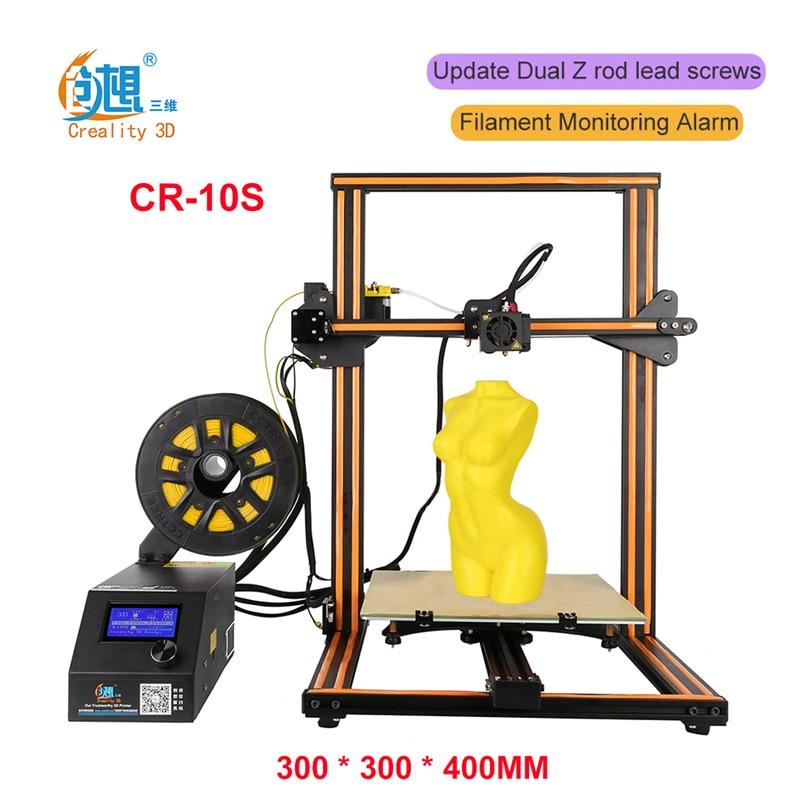 CREALITY 3D Printer CR-10/Mini & Cr-10S Optional 3D Printer Kits Top Quality Desktop Full Metal 3D Printer With Filaments Gift creality3d cr 10s 3d printer