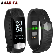 Auarita CD01 Smart Blood Pressure Watches Sports Bracelet Heart Rate Monitor Fitness Activity OLED Screen Message Reminder