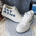 Free shipping new Ms. increased within the canvas shoes candy colored shoes