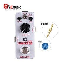 Mooer balayeuse basse dynamique enveloppe filtre effet guitare pédale pour basse guitare True dérivation avec or pédale connecteur MOOER bouton