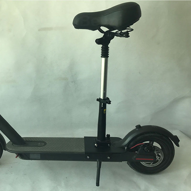 Купить с кэшбэком Xiaomi M365 Scooter Seat Foldable Saddle Electric Scooter Adjustable Seat With Shock Absorbing for Xiaomi Electric Skateboard