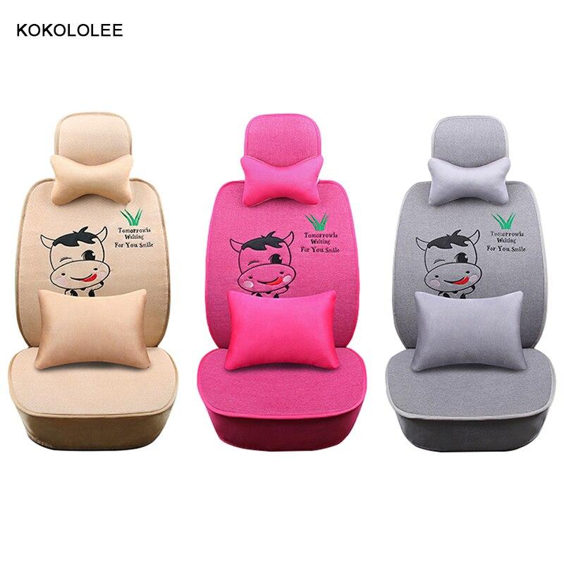 KOKOLOLEE car seat cover for mitsubishi pajero mazda cx-7 hyundai matrix ix25 toyota aur ...