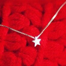 925 пробы ювелирные изделия из серебра, ожерелья и подвески из стерлингового серебра со звездами, летнее ювелирное изделие для женщин