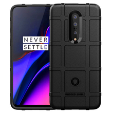 For OnePlus 7 Case One Plus 6T Cover Back Full Military TPU Protective Strong Phone Cases 6 Shell