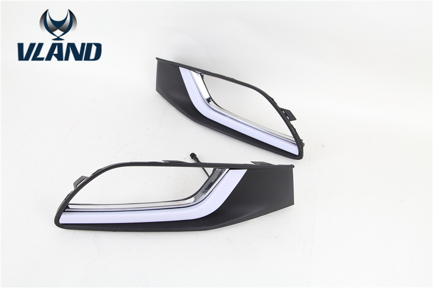 Free shipping Vland factory for Besturn 2013 2014 2015 Daytime running lights plug and play design car stainless steel headlight switch cover stickers for opel mokka chevrolet cruze sedan hatchback malibu trax auto accessories