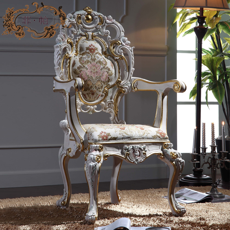 Hand Carved Home Furniture Solid Wood Royalty Dining Armchair Free  Shipping In Dining Chairs From Furniture On Aliexpress.com | Alibaba Group