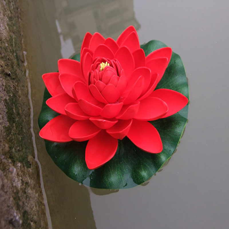 Pool Water Lily Lotus Decoration Artificial Plants Real Artificial Lotus