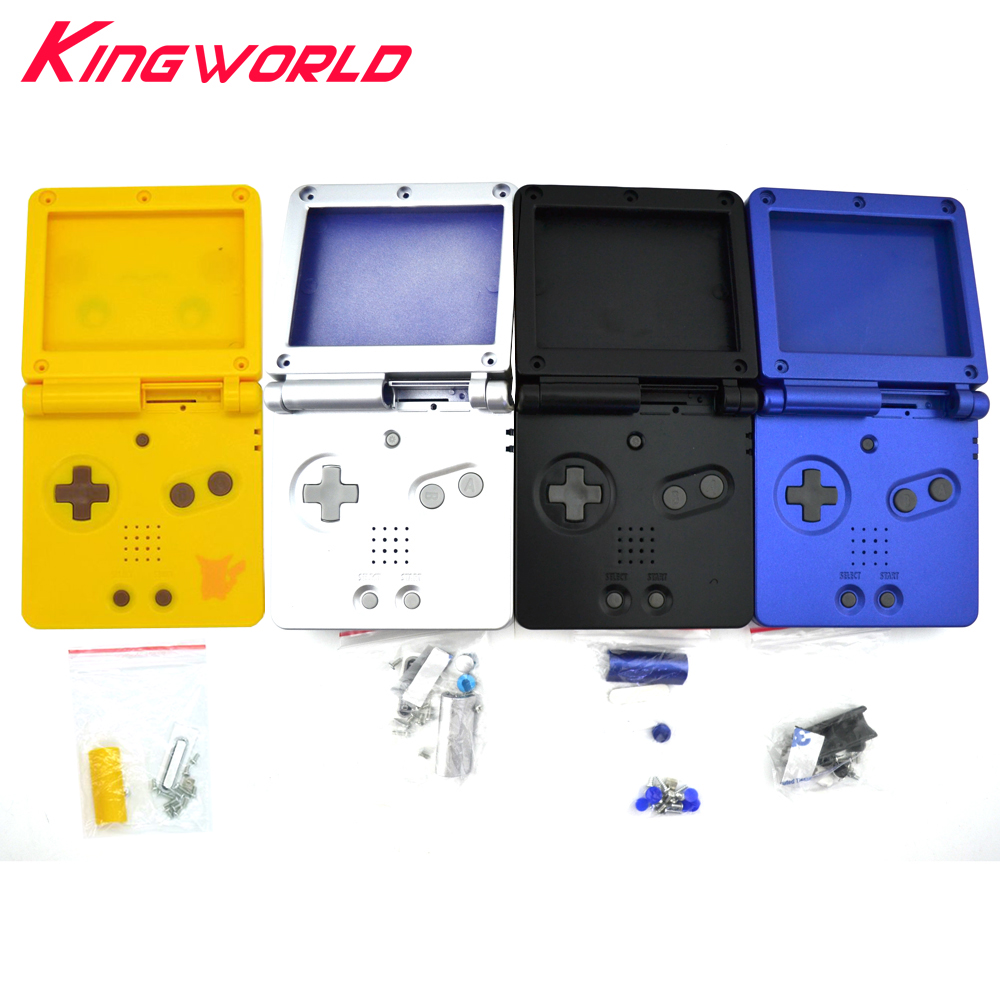 10 set Quattro colori disponibili Per Nintendo GBA SP Per Gameboy Custodia Cover Cover di ricambio Full Shell per Advance SP