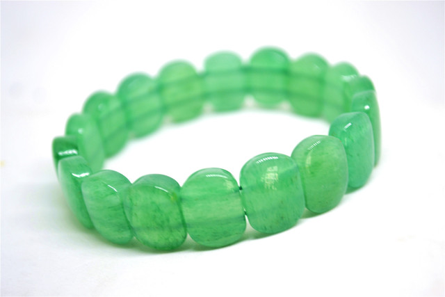 Bracelet En Pierre De Jade