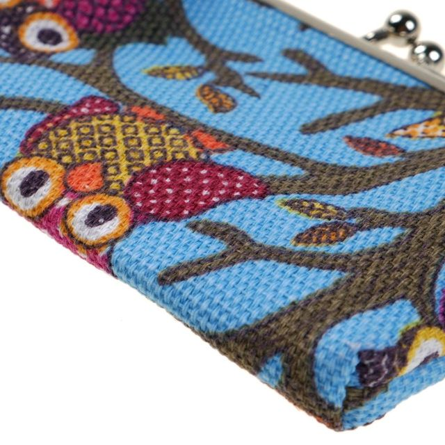 Women Coin Purse Owl Printing Lady Change Purse Leather Coin Wallet Female Money Bag Mini Wallet Gift Dollars Pouch Coin Purses & Holders