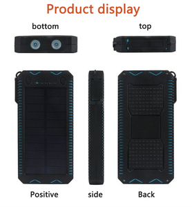 Image 4 - LiitoKala Lii D002 พลังงานแสงอาทิตย์แบบพกพา 20000 mah สำหรับ Xiaomi 2 Iphone ภายนอกแบตเตอรี่ Powerbank กันน้ำ Dual USB