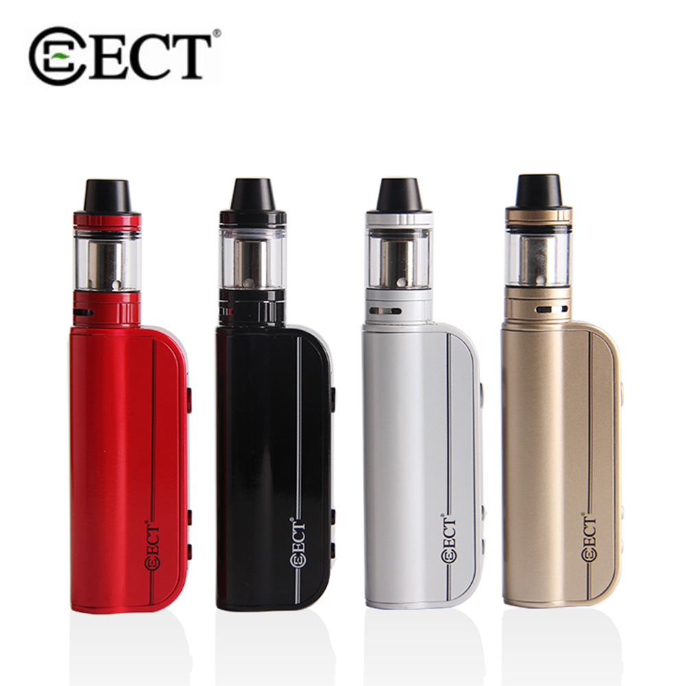 Original ECT Traveler 80TC Mod Kit 80W Electronic Cigarette Box 2200mAh Battery 510 Thread 2.0ml Atomizer Starter Kit Big Vape