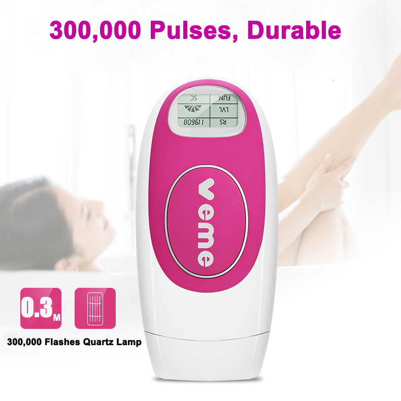 3 in 1 Face Skin Care Acne Treatment Permanent Hair Removal Laser Hair Remover Man Woman IPL Hair Removal Machine 300,000 Pulses anti acne pigment removal photon led light therapy facial beauty salon skin care treatment massager machine