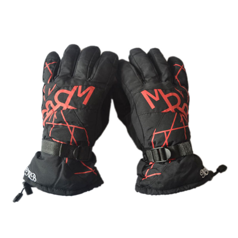 Winter Kids Skiing Gloves Thick Super Warm Anti-cold Snow Ski Gloves Snowboard Cycling Outdoor Sport Windproof Gloves Children Sports & Entertainment