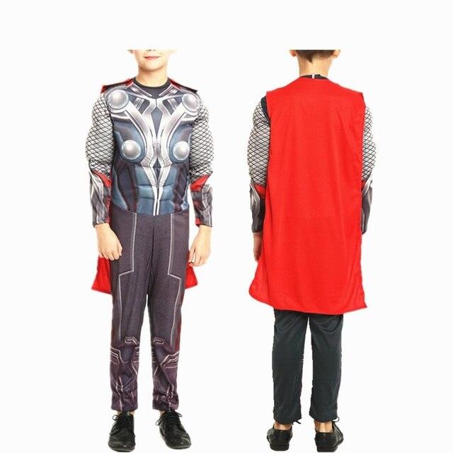 grande sconto per vendita più calda assolutamente alla moda US $8.42 15% di SCONTO|Avengers thor costume bambini bambino bambini  costumi di natale per i ragazzi 2016 costumi di halloween per bambini  ragazze ...