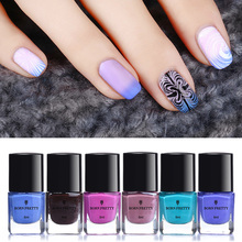 6ml Thermal Stamping Polish Color Changing