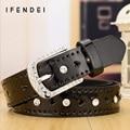 IFENDEI Falso Cinto de Couro Mulheres 2016 Novo Colorido Dos Doces Finos Cintura Cinto Cintos de Moda Strass Coração Design Cinturones Mujer