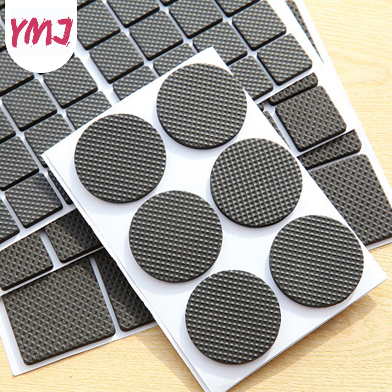 Self-adhesive Furniture Mat Anti-slip Mat Sofa Cabinet Table And Chair Legs Feet Protector Bumper Damper Floor Protecter Pads
