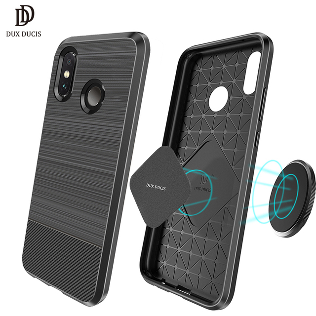 brand new 7d40c 35afe US $4.99 |DUX DUCIS Magnetic Silicone Case For Xiaomi Redmi Note 5 Pro  Carcasa Soft Back Cover Fundas Para Redmi Note5 Capa Coque Etui-in Fitted  Cases ...