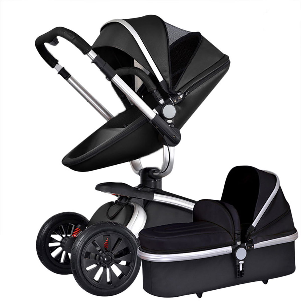 2 in 1/3 in 1 Baby stroller With Car Seat High Landscope Folding Baby Carriage For Child From 0-3 Years Prams For Newborns 3