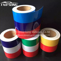 Whole Roll 15CM*25M/Roll New Car Styling National Flag Car Wrap Sticker Germany France Italy Car Vinyl Film Sticker Accessories