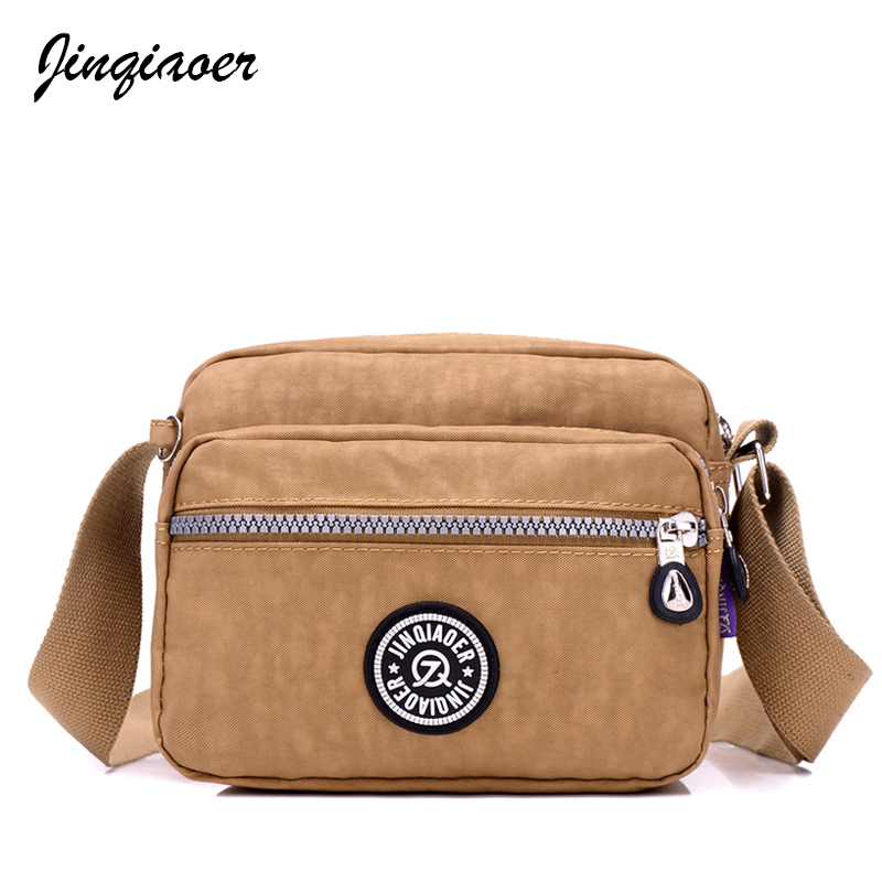 2018 Fashion Women Canvas Messeger Bags High Quality Casual Women Bags Waterproof Nylon Ladies Cross-body Bags JQ051/q