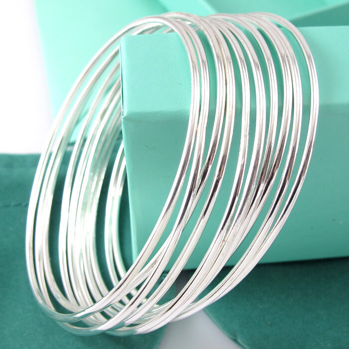 10pcs Cuff Bangle Lots Bracelet Simple Bracelet female Coil Bracelet|Bangles| - AliExpress