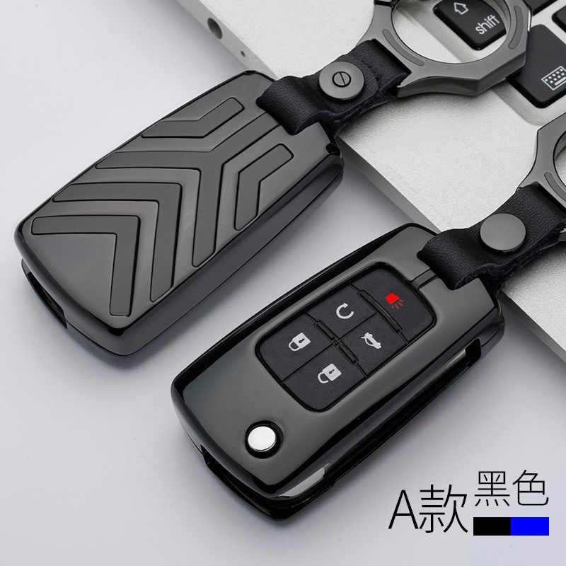 Брелок для ключей из цинкового сплава держатель чехол для Buick, Chevrolet Cruze Aveo TRAX Защитные чехлы для сидений, сшитые специально для Opel Astra Corsa Meriva Zafira Antara ASTRA J Mokka
