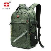 17 Inch Laptop Backpack male USB Waterproof Travel Camouflage 17.3 Back Pack for Men Back Bag Large Capacity Bagpack Mochila