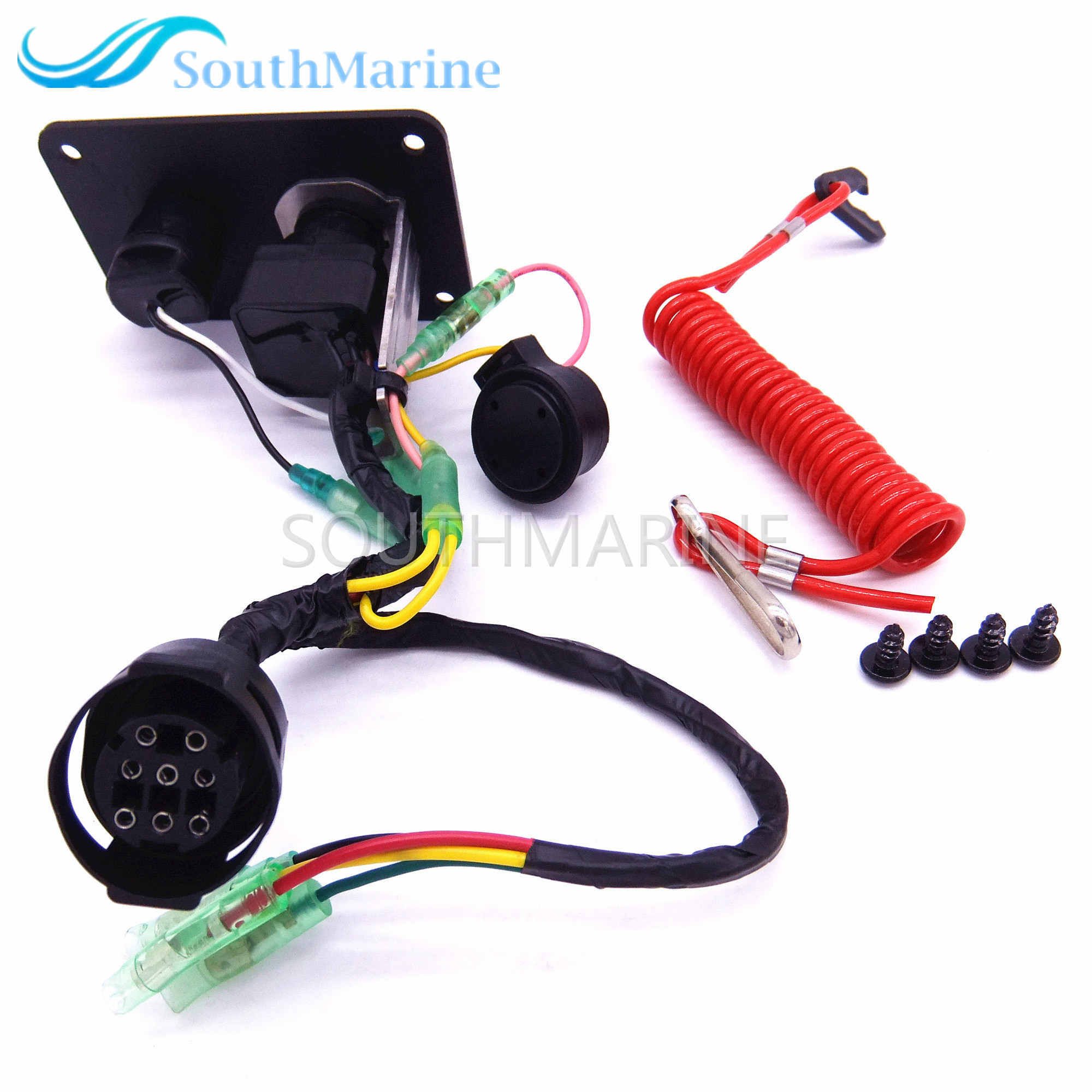 Outboard Single Engine 704-82570 704-82570-11-00 704-82570-12-00 704-82570-08-00 Switch Panel Main Switch Assembly for YamahaOutboard Single Engine 704-82570 704-82570-11-00 704-82570-12-00 704-82570-08-00 Switch Panel Main Switch Assembly for Yamaha