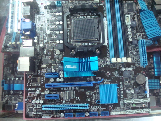 M5A88-M AM3 + DDR3 fully integrated A880G motherboard USB3.0 FX eight-core motherboard 80%-90%new original 960gm vgs3 fx bulldozer am3 integrated small board support open core
