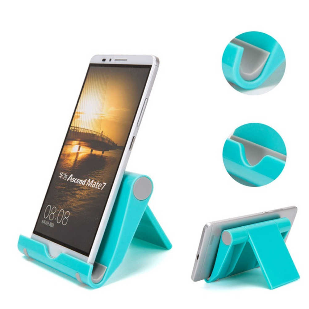 Random Color Mobile Phone Holder Universal Cell Phone Stand Multi-Angle Tablet Top Smartphones Stand Holder