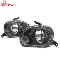 1 Pair Car Front Bumper LED H11 Fog Light Lamps Headlight Left Right For AUDI Q7