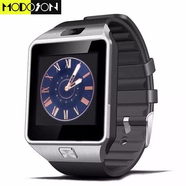 sito affidabile a3af2 4360f US $11.99 |MODOSON Bluetooth Smart Orologio Smartwatch DZ09 Supporto Scheda  di Memoria SIM Per Samsung Huawei Xiaomi Telefono Android ios di Apple ...
