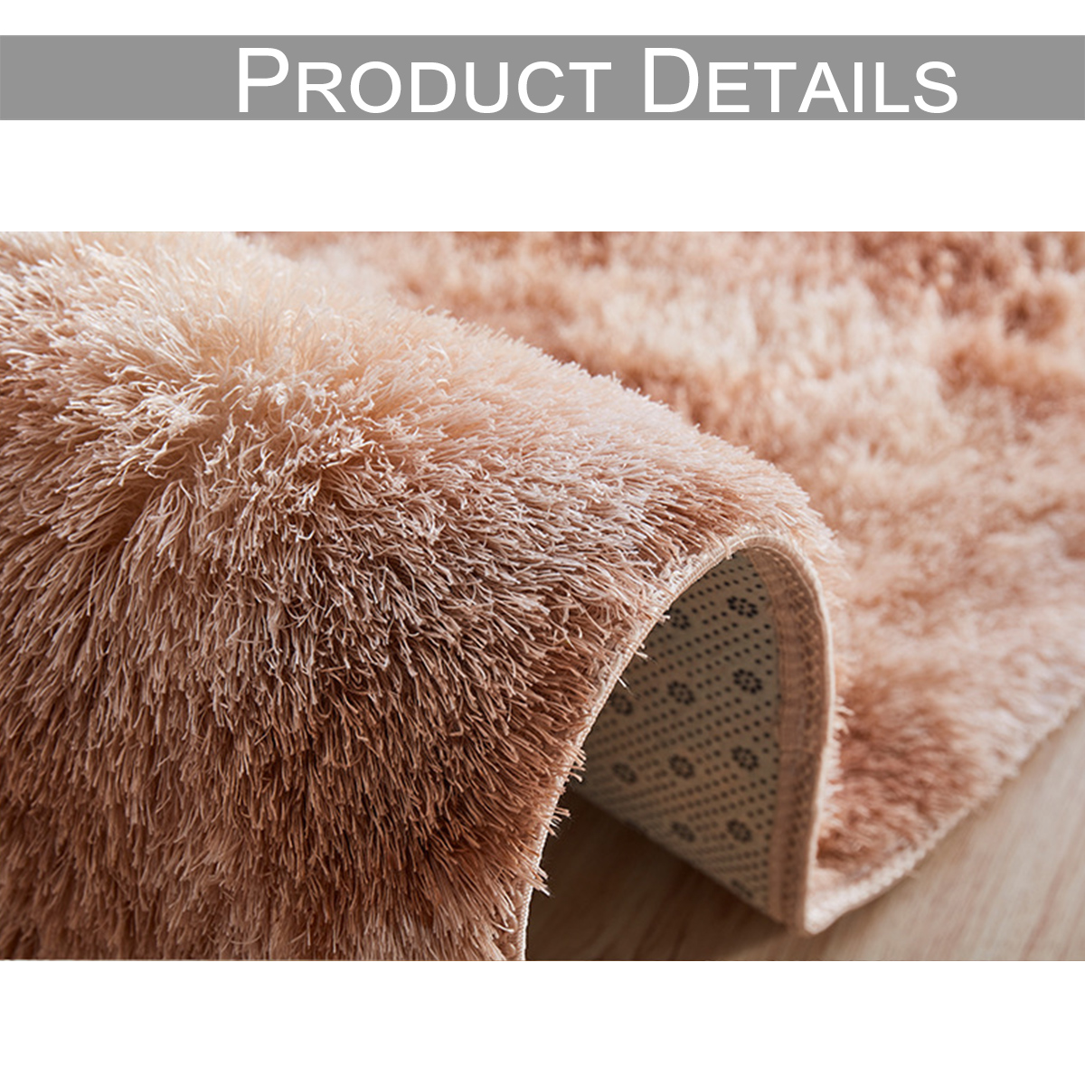 Luxury Rectangle Square Soft Artificial Wool Sheepskin Fluffy Area Rug White Fur Carpet Shaggy Long Hair Solid Mat Home DecorD30 in Carpet from Home Garden