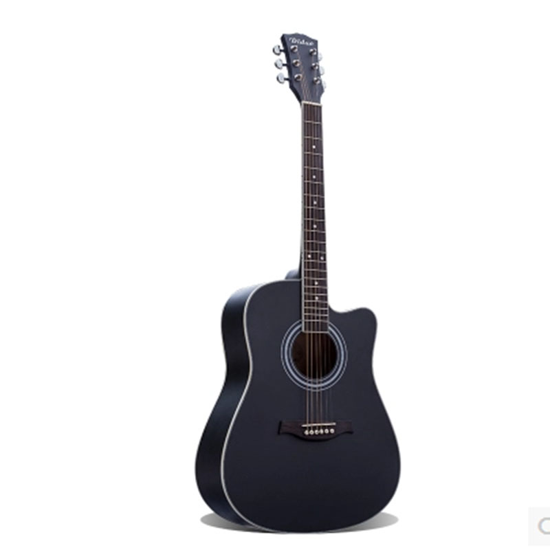 Folk guitar 40 inch 41 inch beginner basswood six strings guitar Free Shipping 30 34 36 inch novice guitar beginner folk guitar six chord little guitar