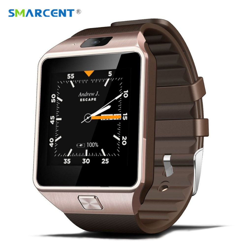 SMARCENT 3G WIFI QW09 Android Smart Watch Bluetooth 4.0 Real-Pedometer SIM Card Call Anti-lost Smartwatch PK DZ09 GT08 DZ10 U8 zaoyiexport bluetooth 4 0 smart watch u10 support camera anti lost smartwatch for iphone xiaomi sumsung android pk u8 gt08 dz09