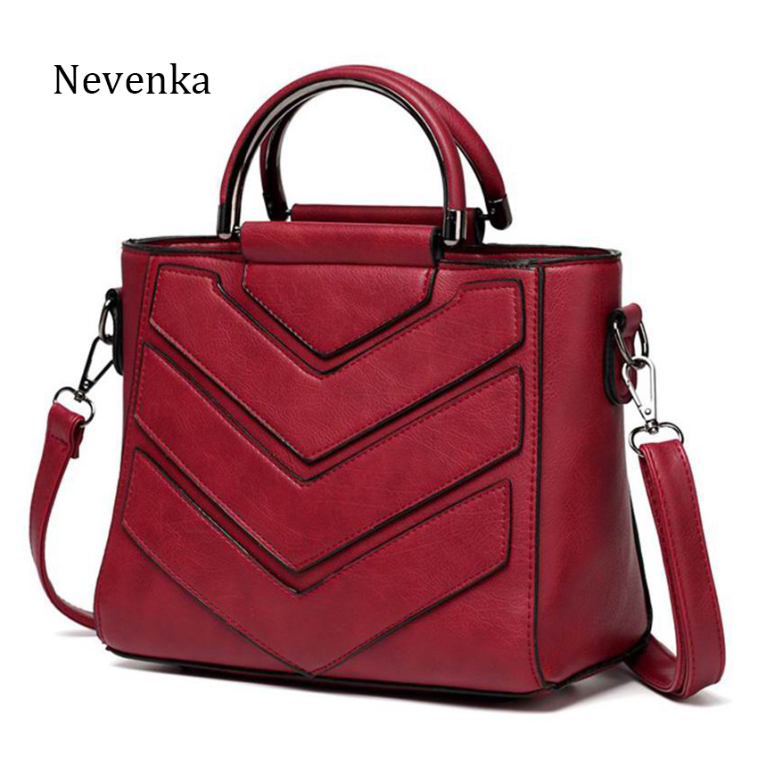 Nevenka 2018New Women Bag PU Leather Handbags Ladies Crossbody Bags Trendy Luxury Tote Female Shoulder Messenger Bags Bolsas xiyuan brand pu leather women bag bolsas 2017 design handbag shoulder bags vintage female luxury messenger crossbody casual tote