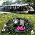 S040 Luft befeuchtung system Nebel Chiller für Outdoor Beschlagen System Plus 1 stücke Wasser Sprayer 5L/min Pumpe