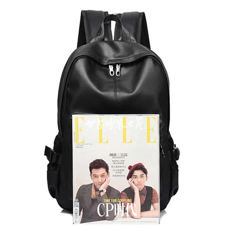 Nova moda masculina mochila mochilas para adolescente luxo designer de couro do plutônio mochilas masculino alta qualidade viagem mochilas