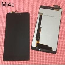 Schwarz beste arbeits lcd touch screen digitizer montage für xiaomi mi4c mi 4c m4c handy display ersatzteile