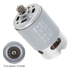RS550 25V 19500 RPM DC Motor w