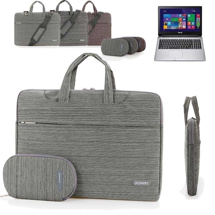 15.6 Laptop Shoulder Bag, Suit Portable Carrying Case Messenger Sleeve Handbag for ASUS Transformer Book Flip TP500LA/ F555LA