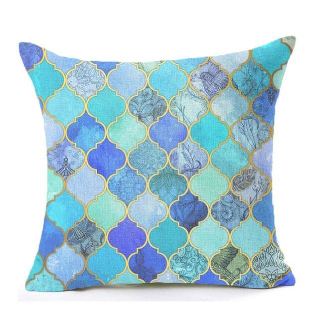 Mosaic Series Cushion Nordic Throw Pillow Moroccan Style Cushion ...