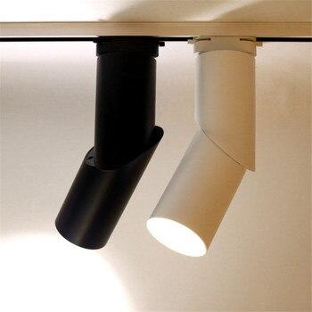 Thrisdar 15 W 20 W Sáng Tạo Thay Đổi Độ Sáng COB LED Theo Dõi Spotlight Nhà Hàng Cửa Hàng Quần Áo Cửa Sổ Nền Đường Sắt Ánh Sáng Theo Dõi