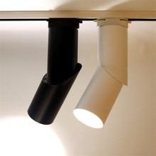 Thrisdar 15W 20W Creative Dimmable COB LED Track Spotlight Restaurant Clothes Shop Window Background Rail Light