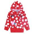 2016 мода дети толстовки для девочек дети носят толстовки roupa infantil вышивка толстовка куртка ребенка для ребенка молния