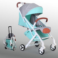 Baby stroller poussette for dolls babies buggy baby carriage stroller barrow children pram folding light child pushchair