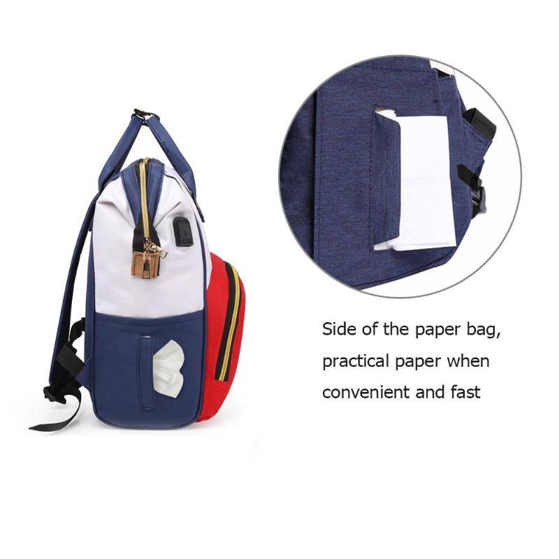 HTB1XA5CQMHqK1RjSZFEq6AGMXXaM Zipper Mummy Diaper Bags Maternity Shoulder Handbags Large Capacity Women Travel Backpacks Waterproof Baby Nappy Nursing Bags